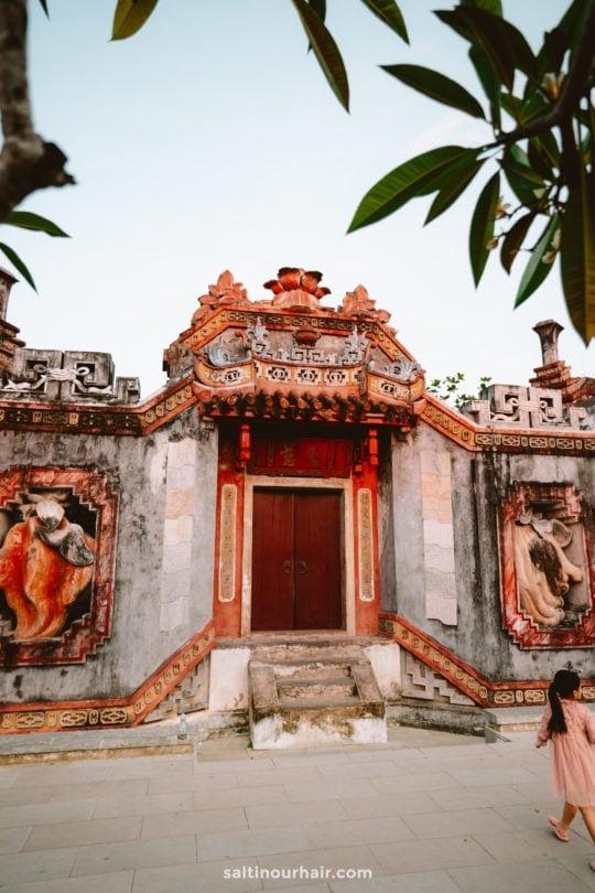 Ba Mu Temple hoi an