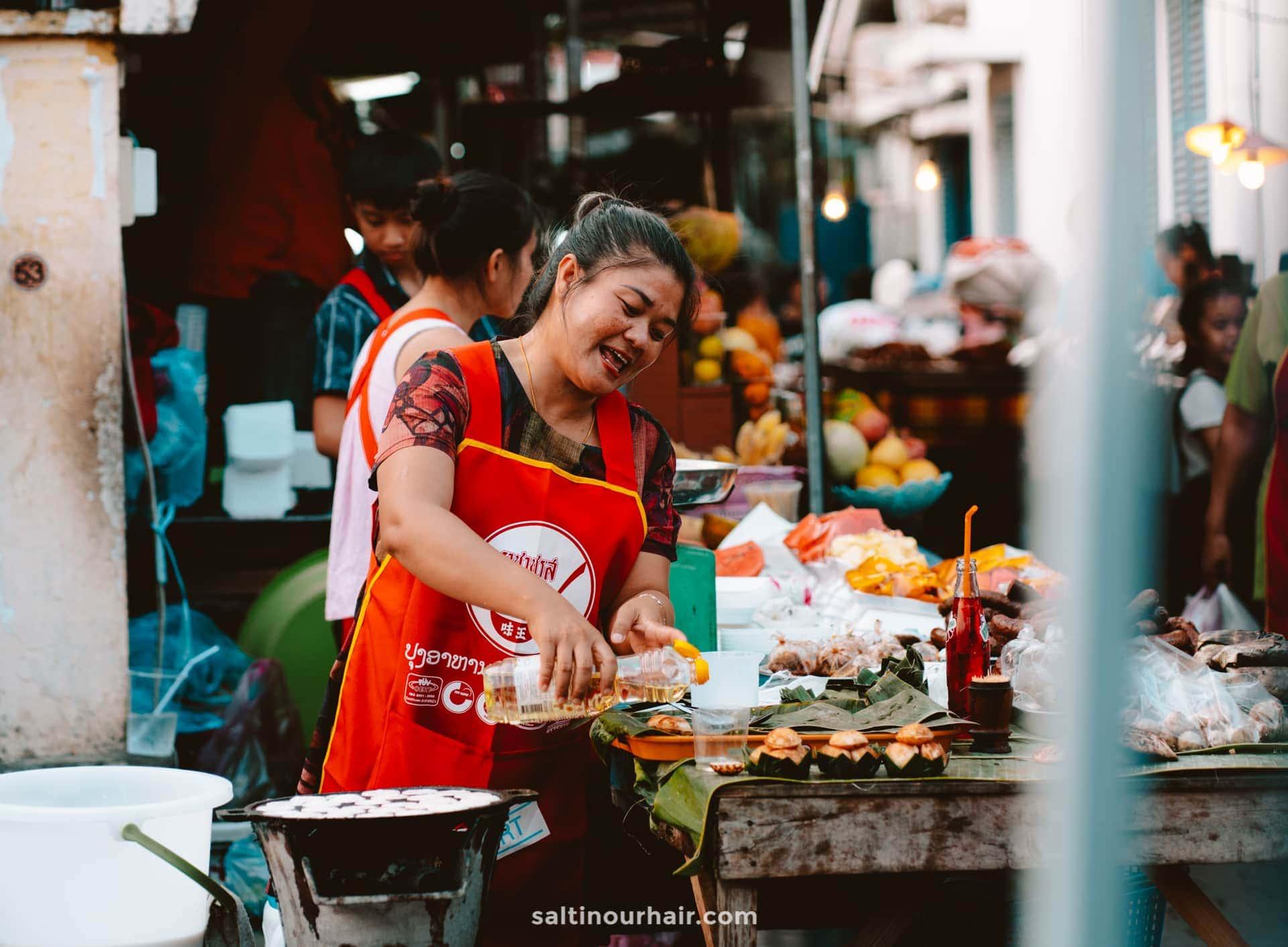 luang prabang guide food market