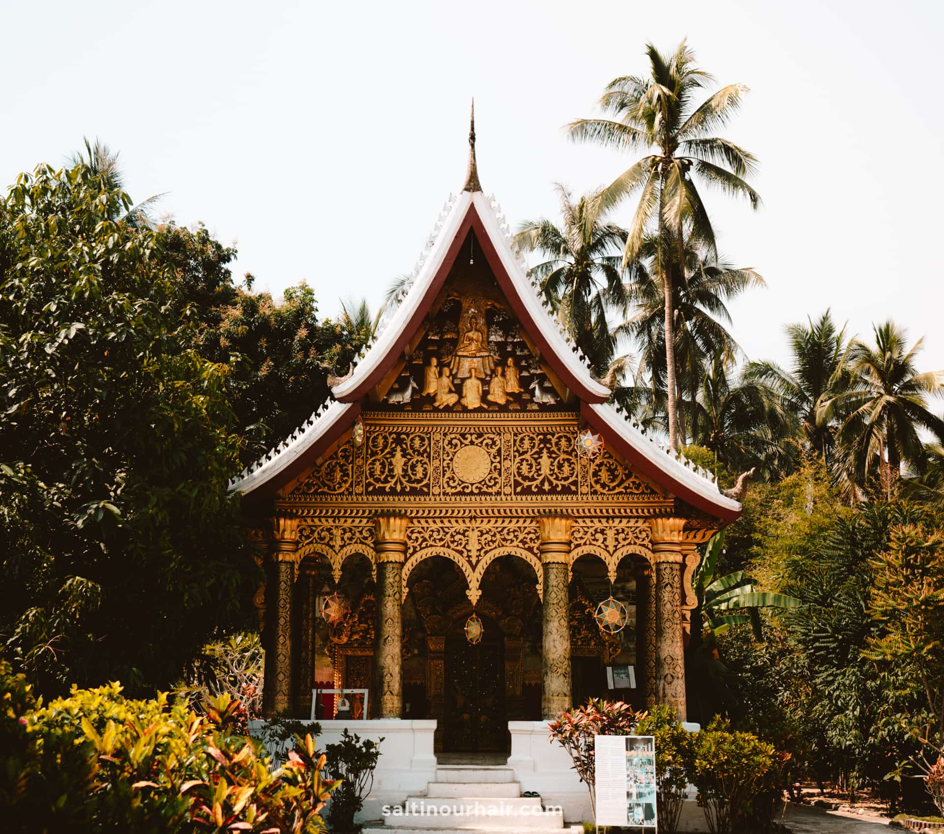 things to do luang prabang Wat Pa Phai