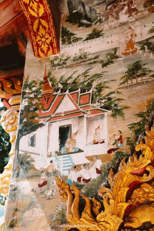 luang prabang Wat Pa Phai temple