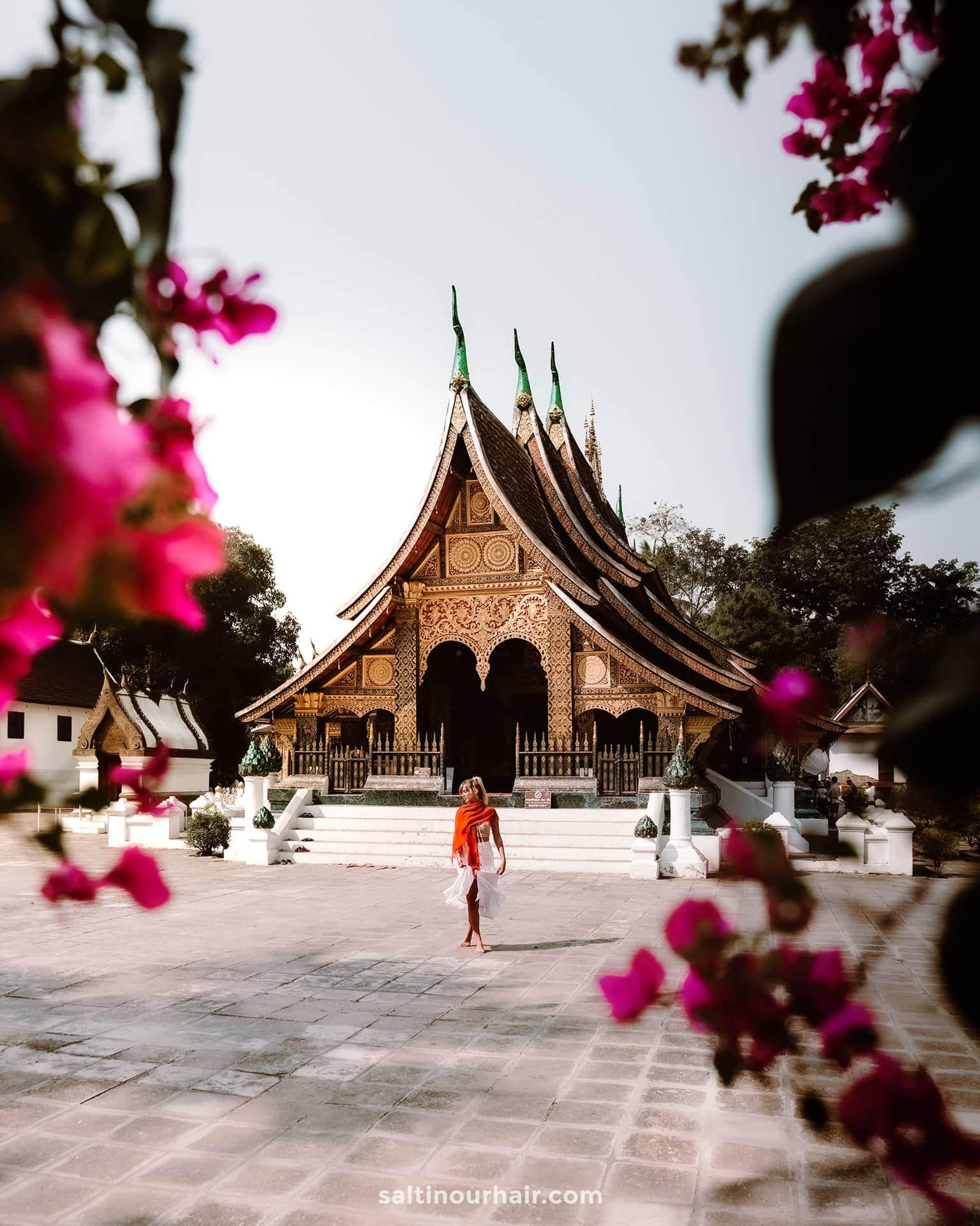 things to do luang prabang Wat Xieng Thong laos