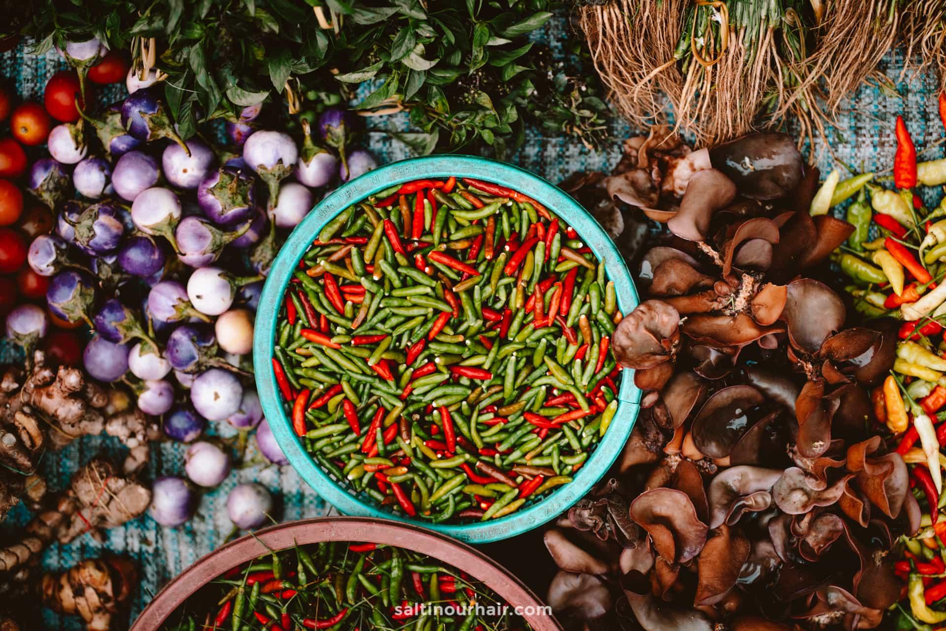 luang prabang local market