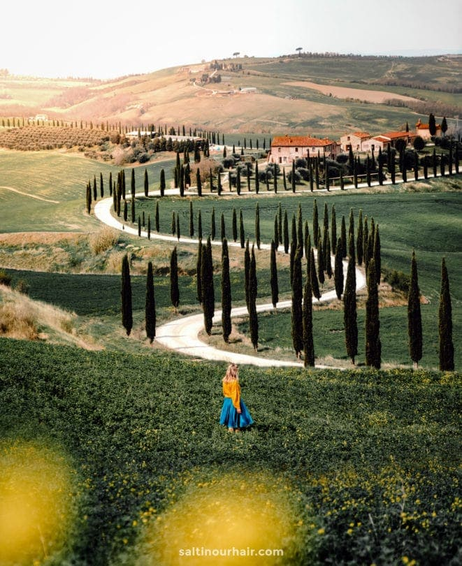 best travel destination Tuscany italy