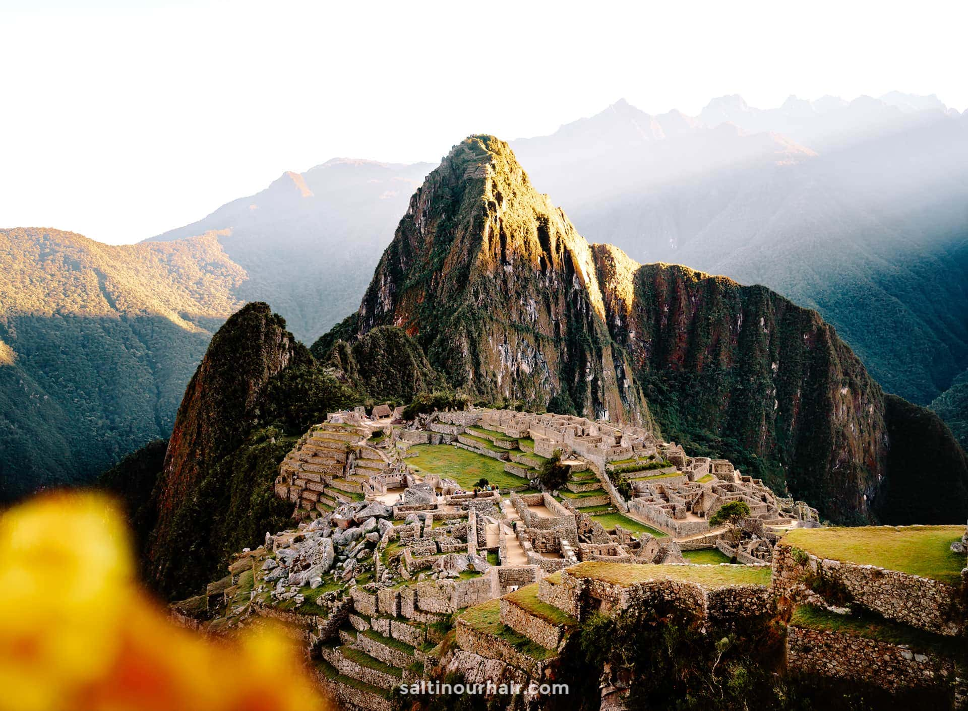 best places travel machu picchu peru