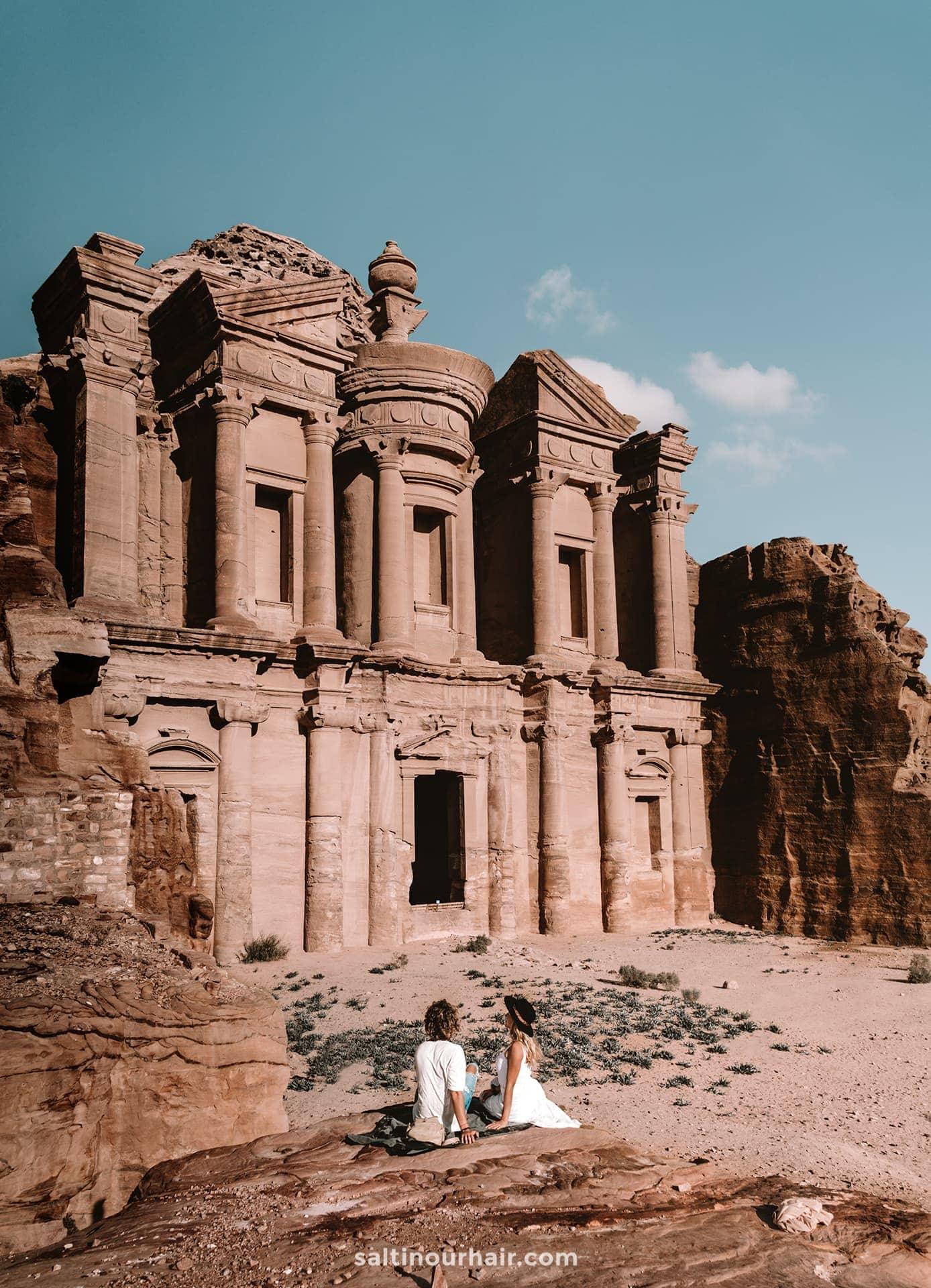 best travel destination petra jordan