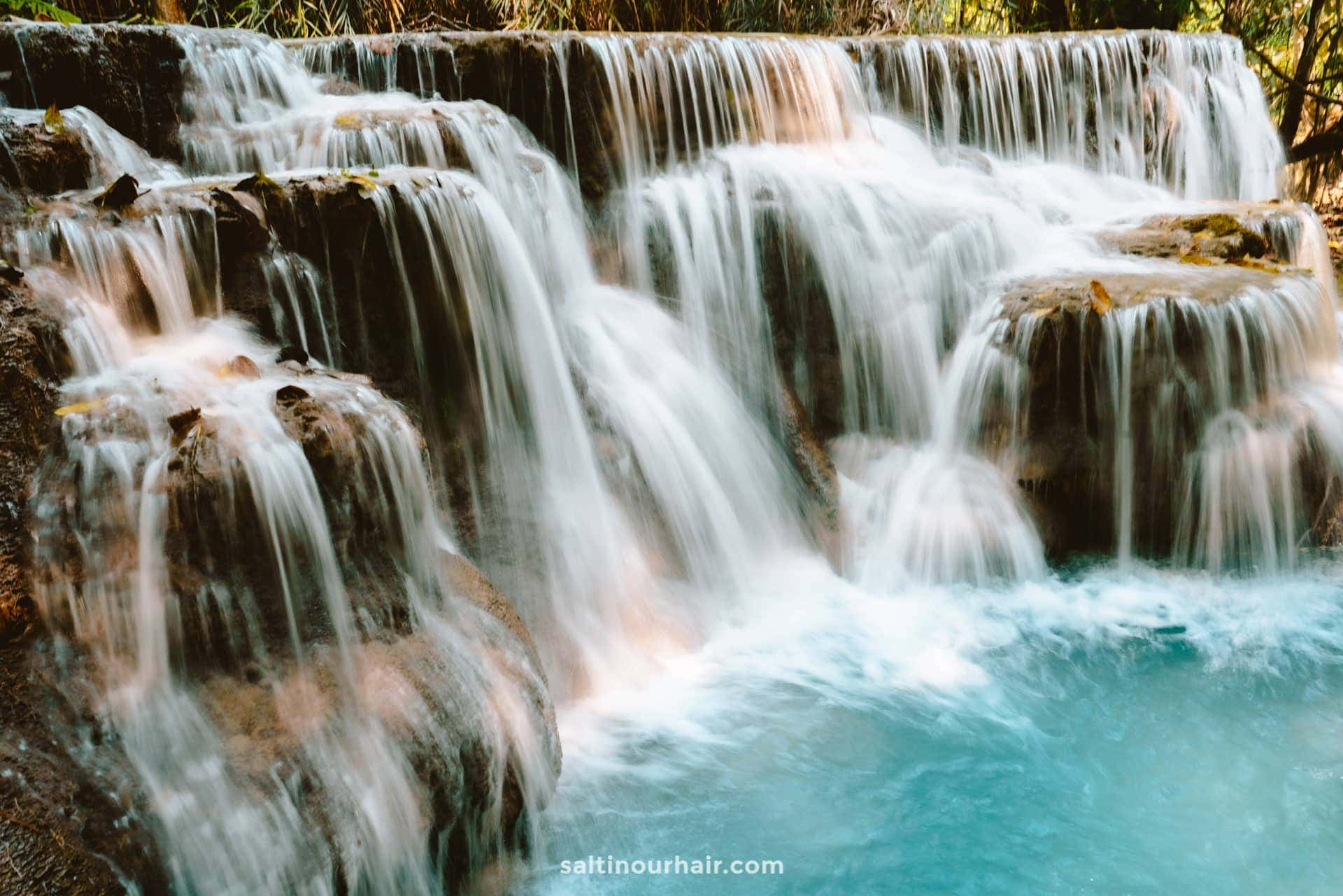 waterfall laos