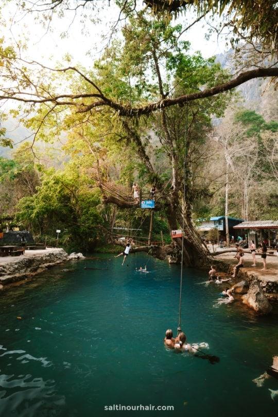 vang vieng guide Blue Lagoon 1