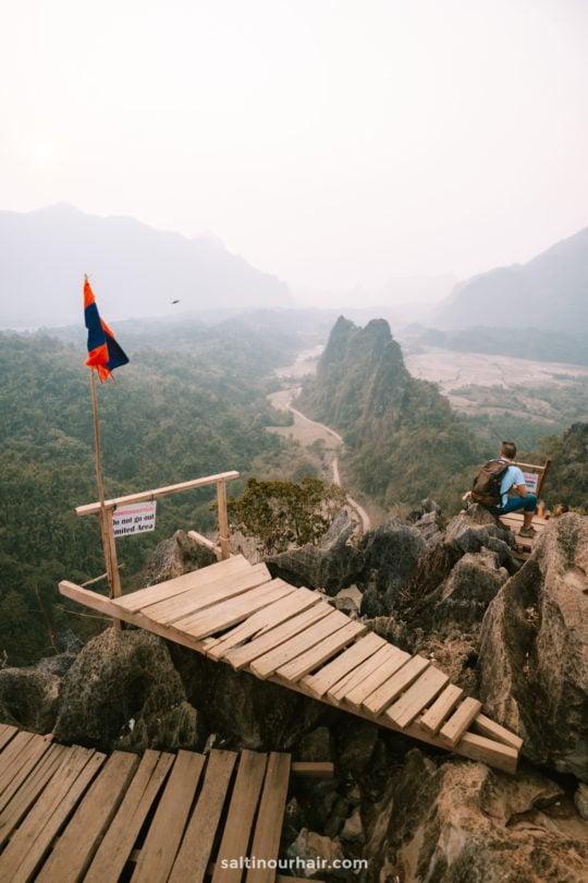 vang vieng Nam Xay viewpoint