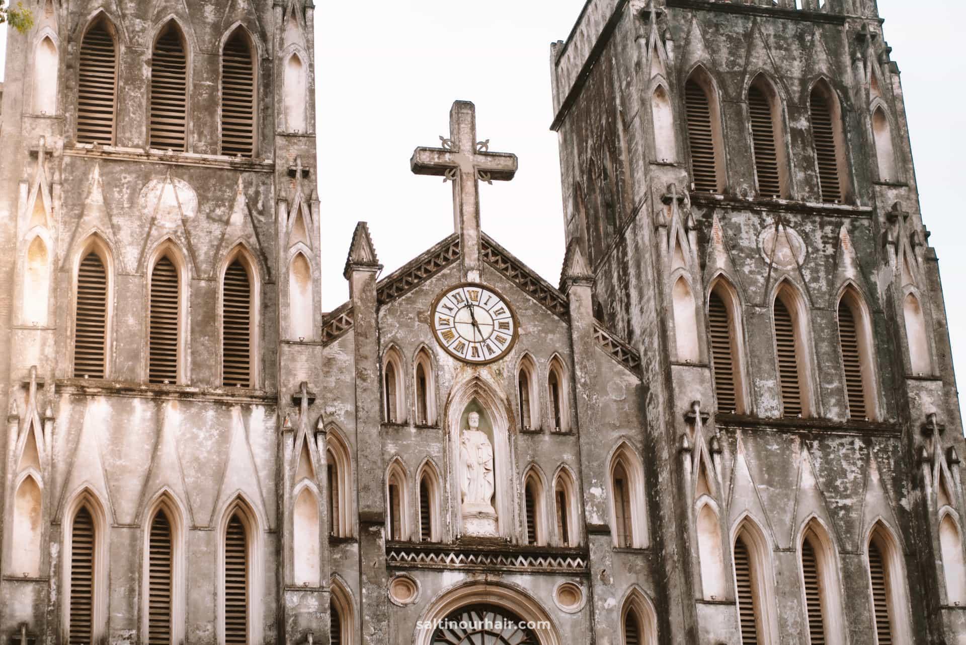hanoi vietnam St Josephs Cathedral