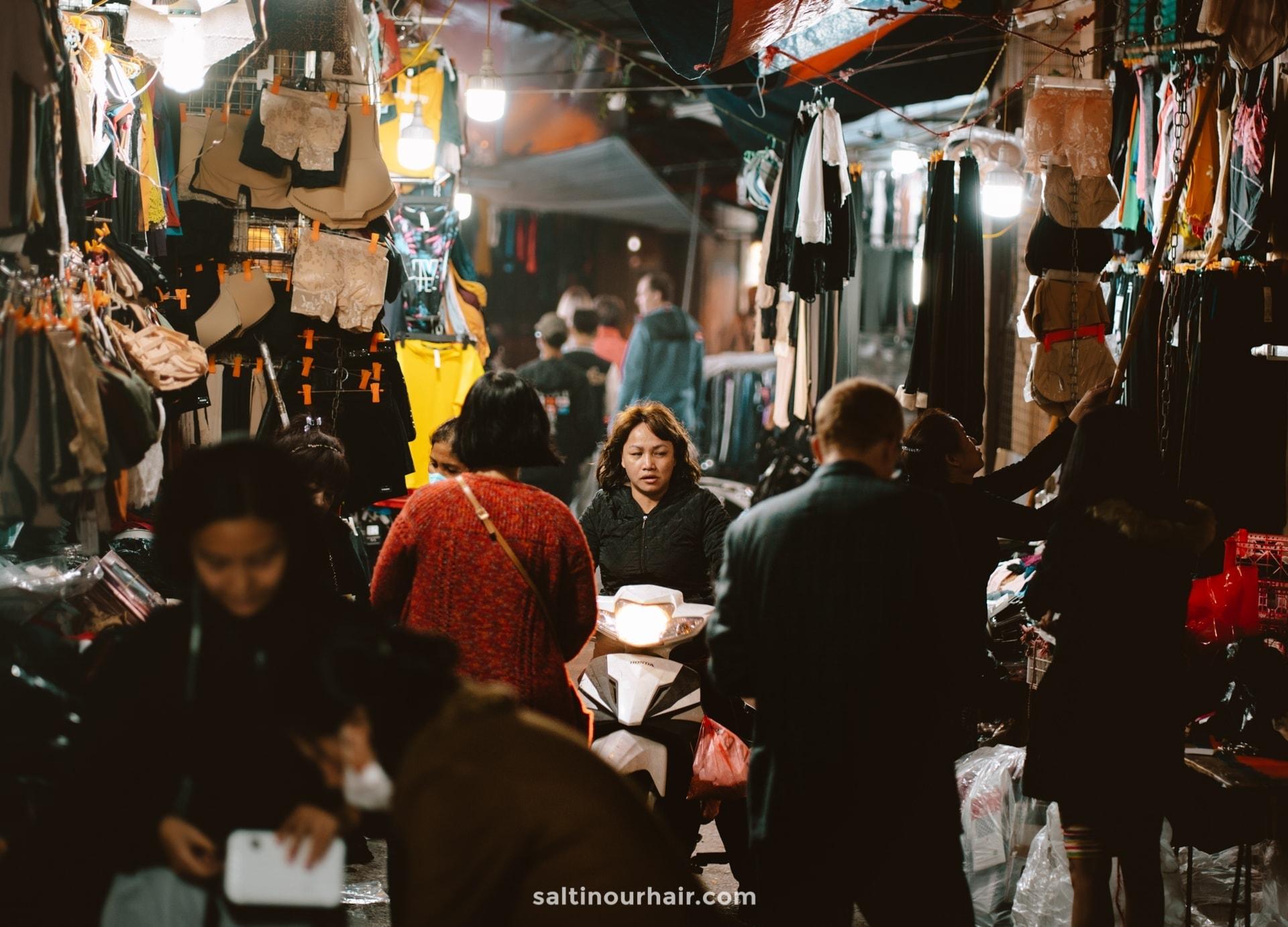 things to do hanoi night market
