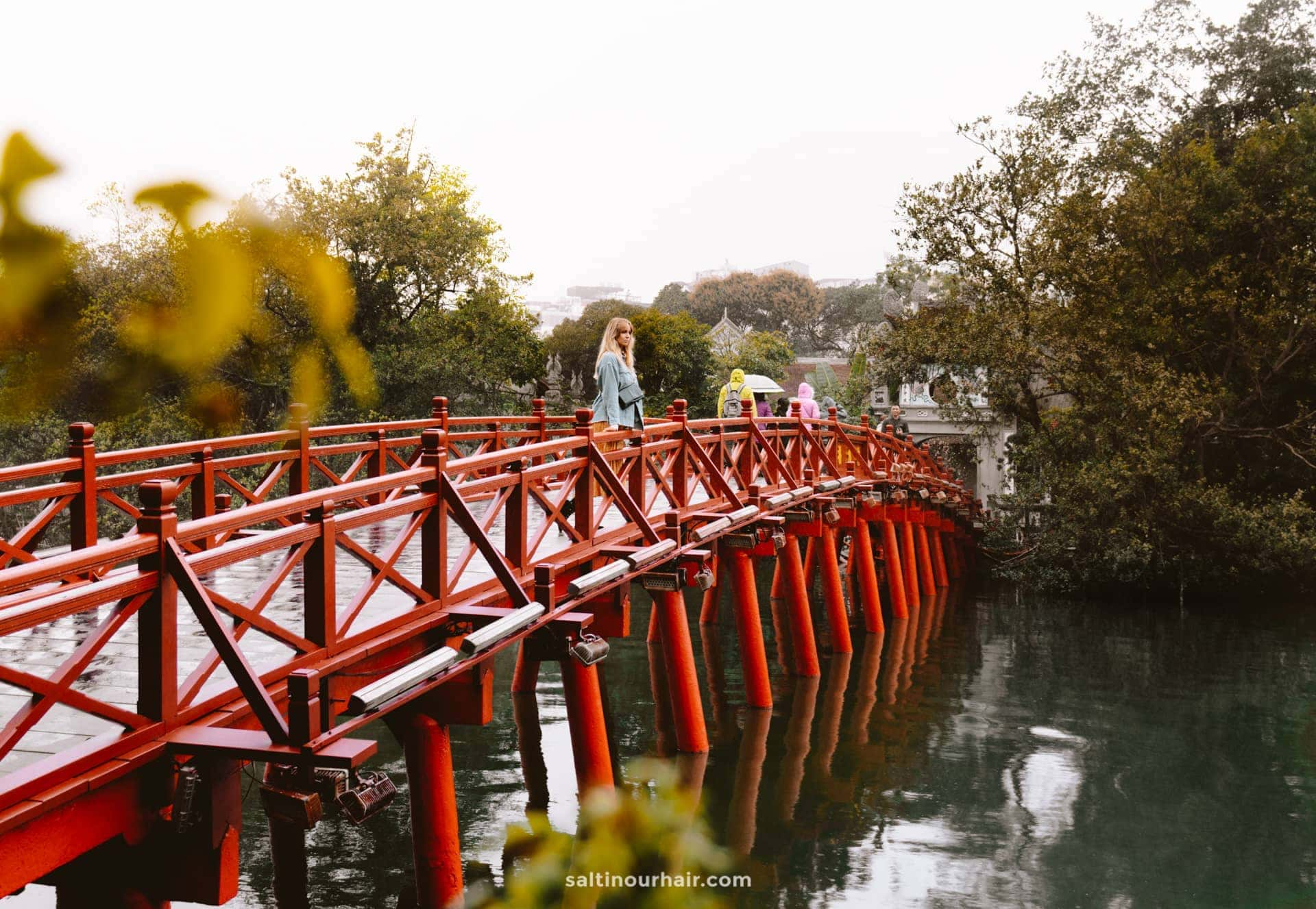 visit Ngoc Son Temple hanoi