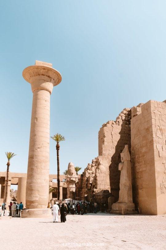 visit karnak temple luxor