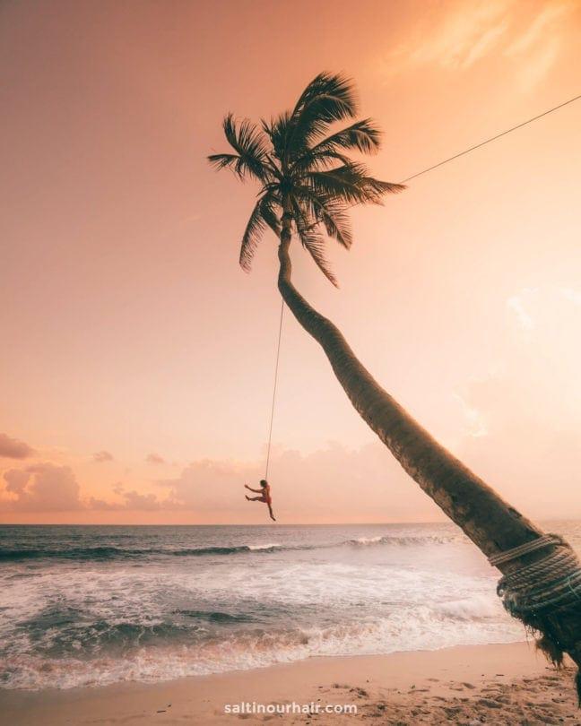 sri lanka sunset swing