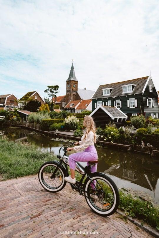 volendam rent bike day trips from amsterdam