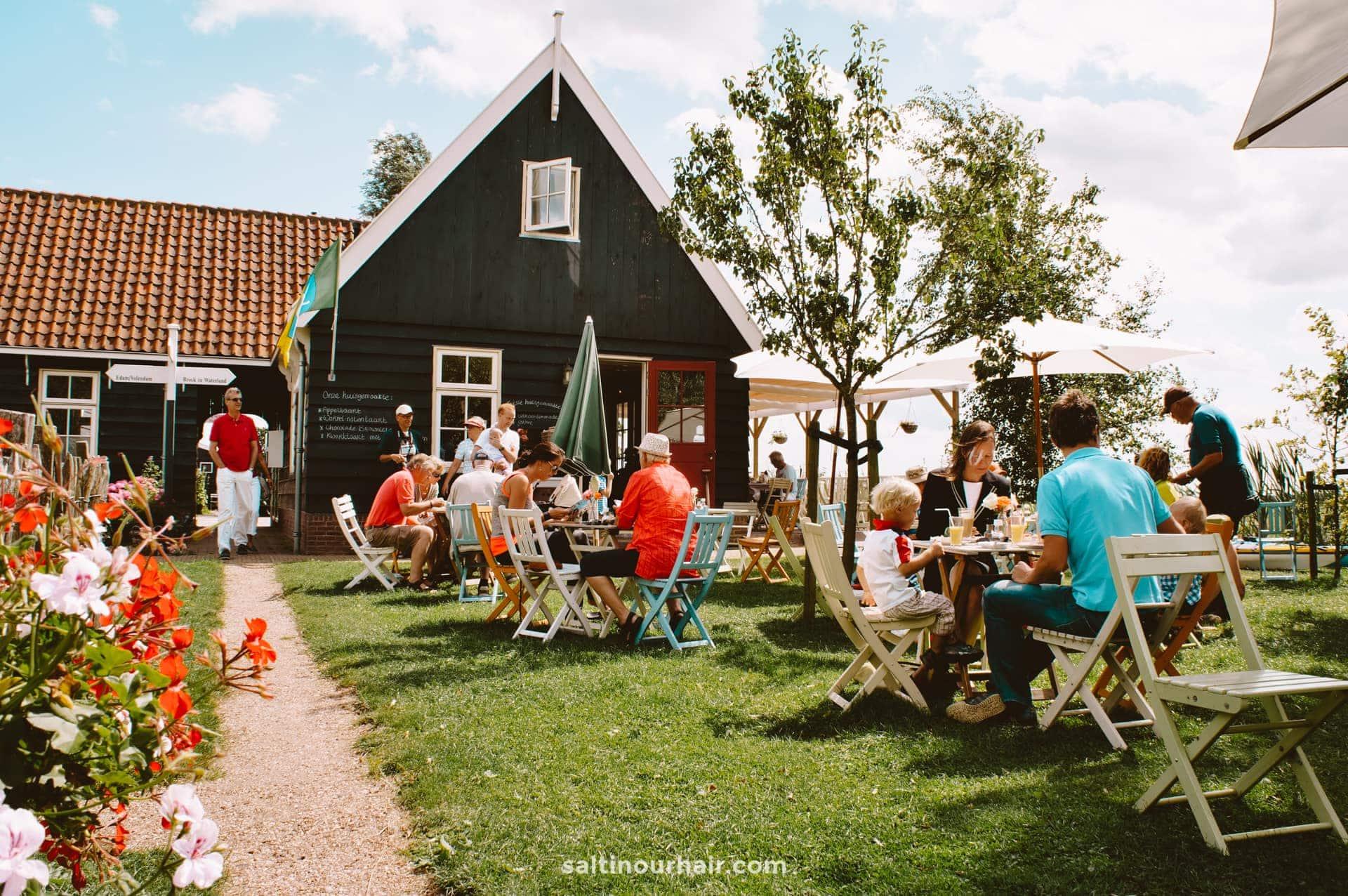 netherlands volendam best thing to do tea garden day trips from amsterdam