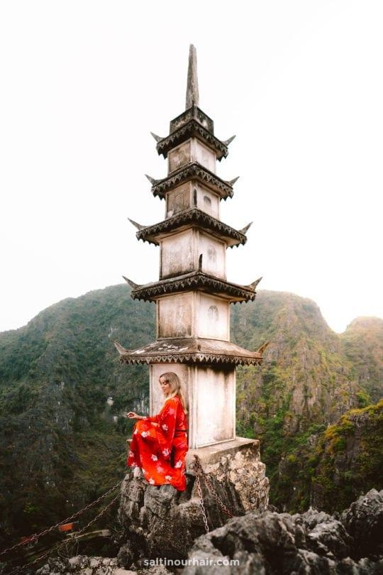 tam coc Hang Múa Peak