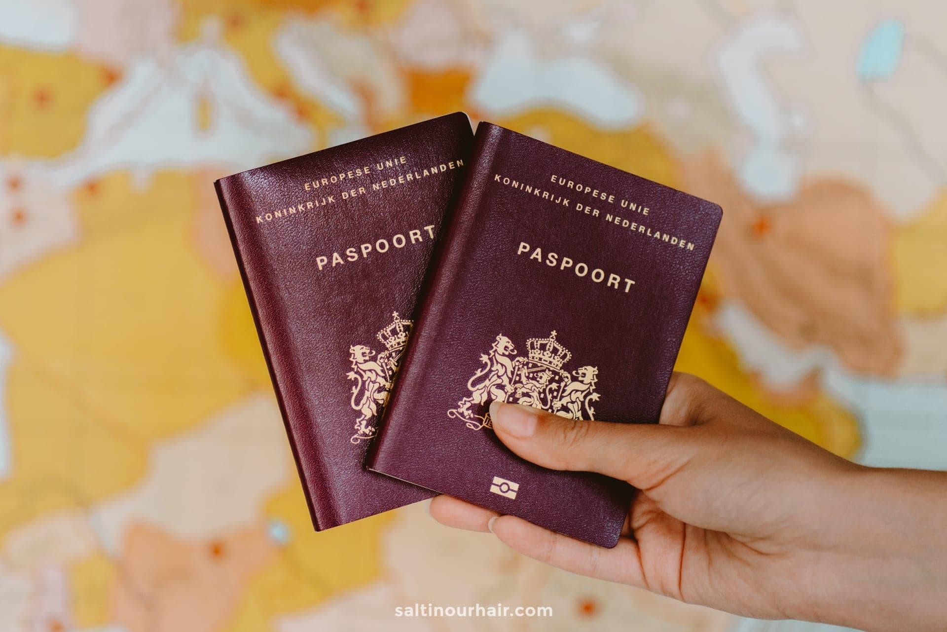 visa paspoort