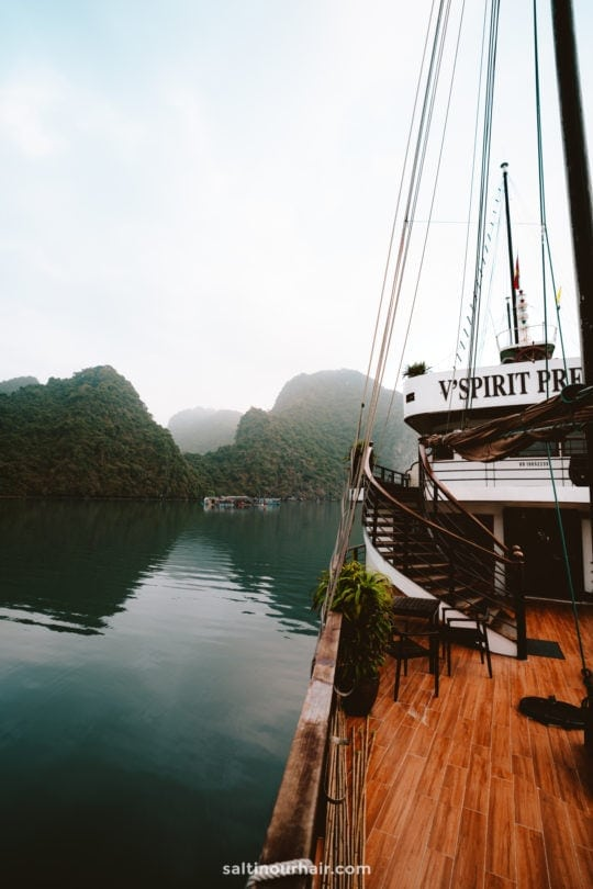 best overnight tour ha long bay