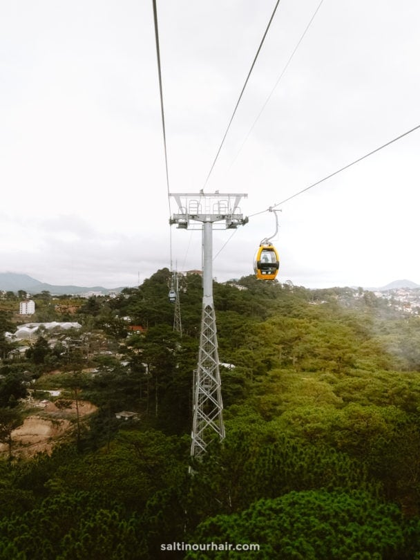 dalat vietnam cable car
