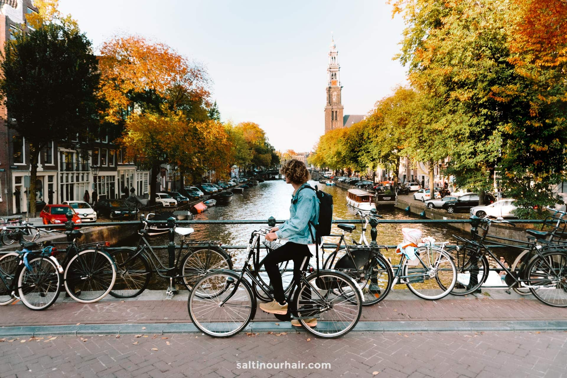 amsterdam city trip fiets