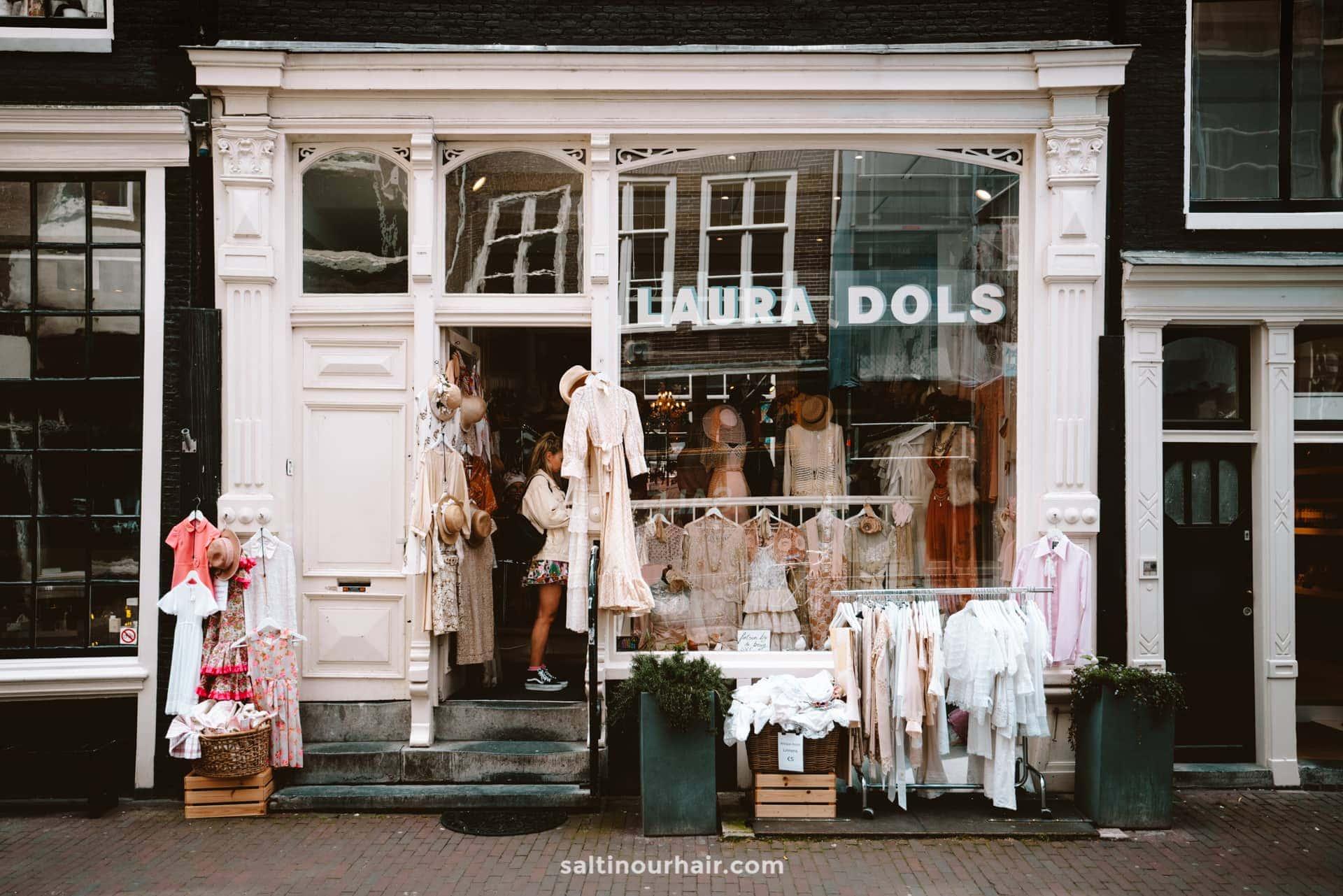 beste vintage shopping amsterdam