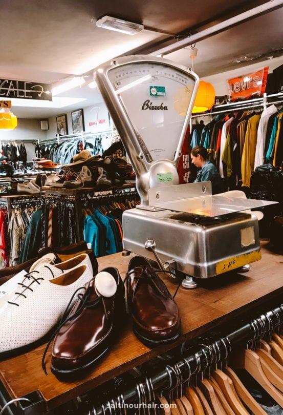 amsterdam vintage kilo shop