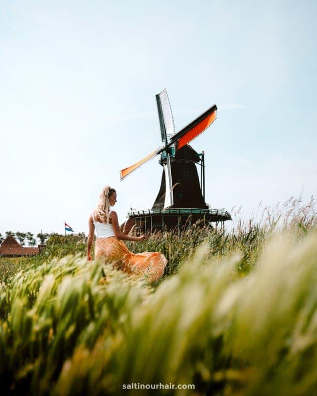 Zaanse Schans Windmolens Amsterdam