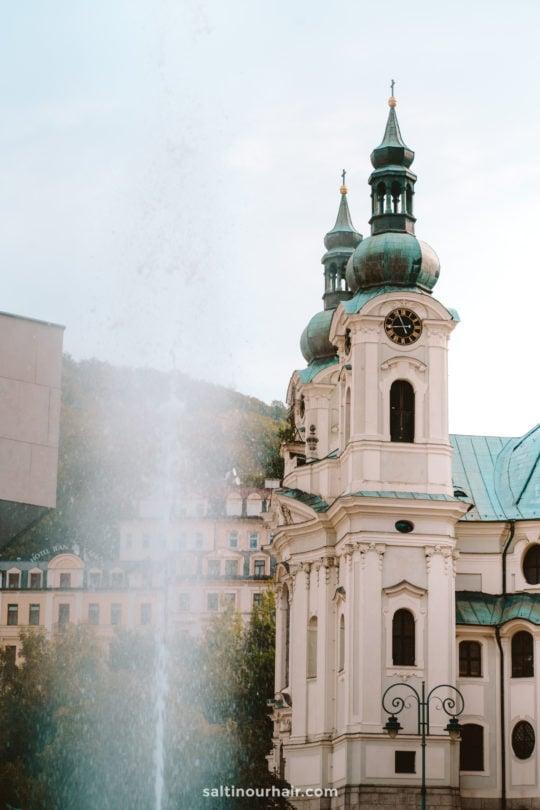 karlovy vary spa city czech republic