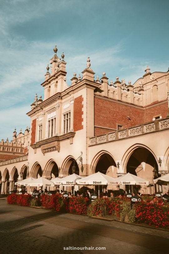 Sukiennice Cloth Hall krakow
