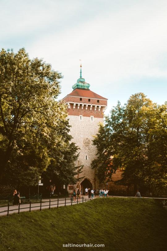 krakow poland St Florians gate