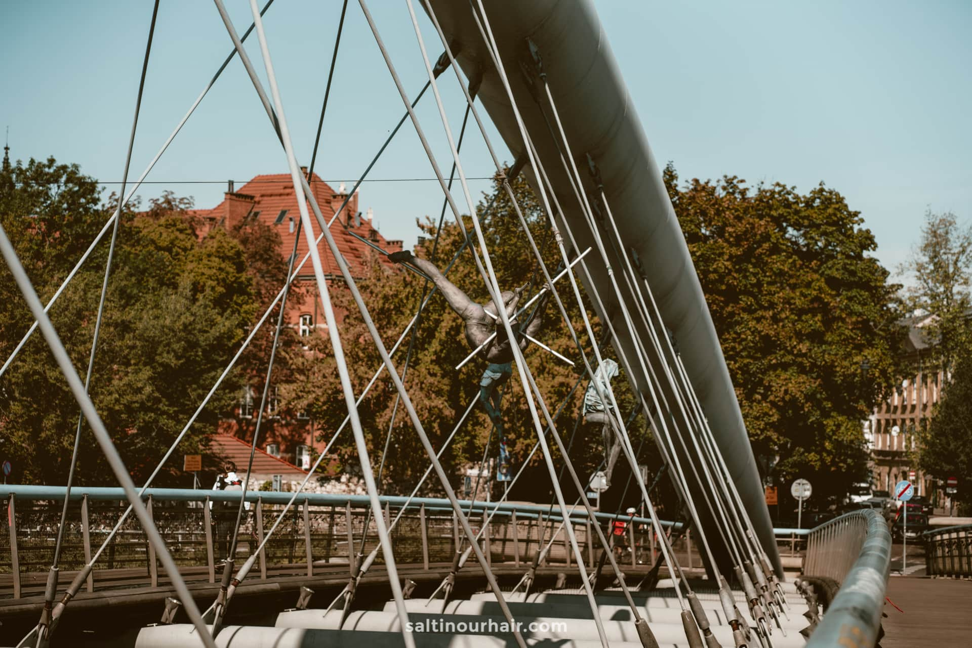Bernatek Footbridge krakow