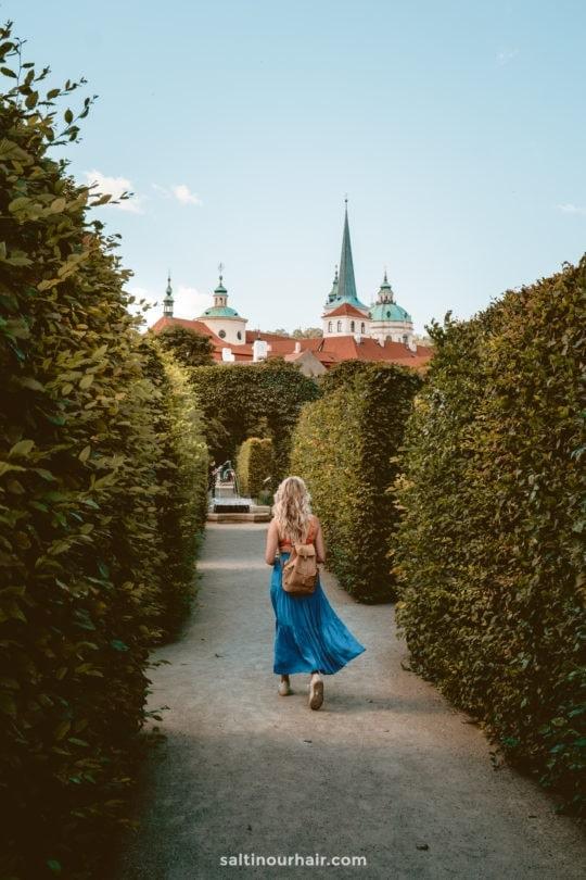 things to do Gardens below Prague Castle