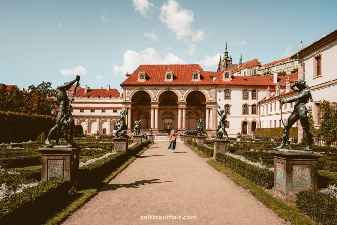 Gardens below Prague Castle