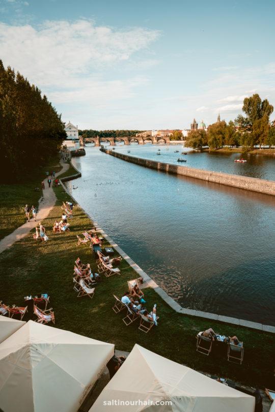 things to do prague River Vltava
