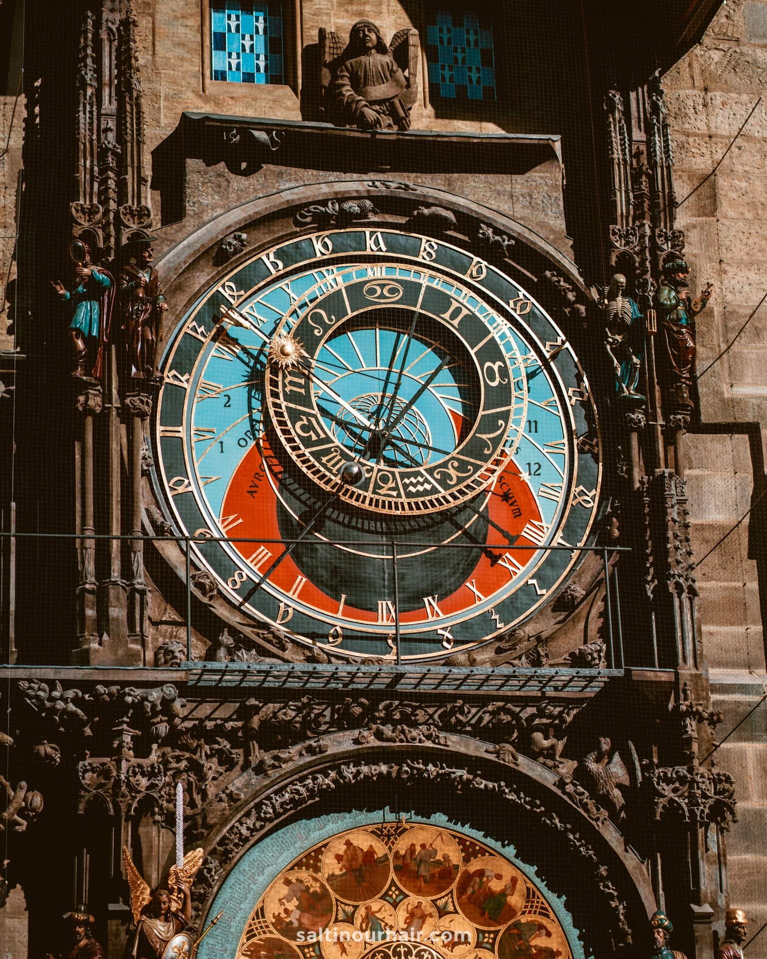 prague things to do Astronomical Clock