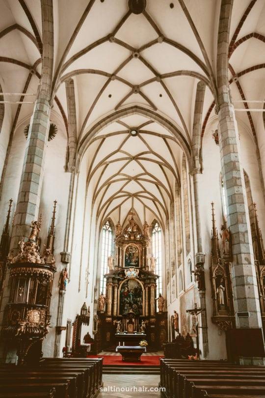 Church St vitus cesky krumlov