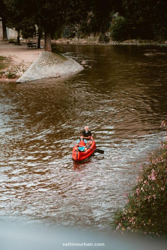 Kayak Vltava River