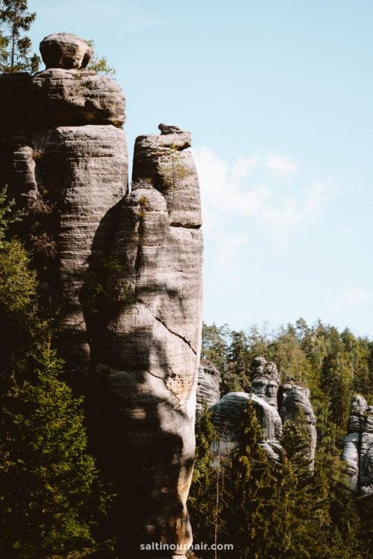 Adrspach Teplice Rocks Czech Republic