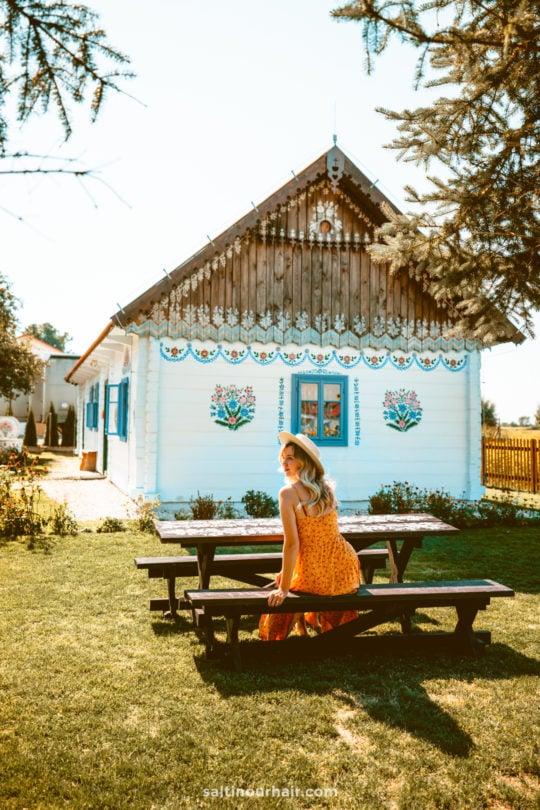 Zalipie most beautiful village Poland