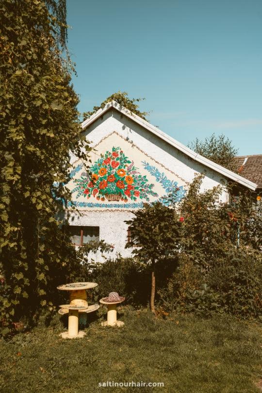 colorful village poland