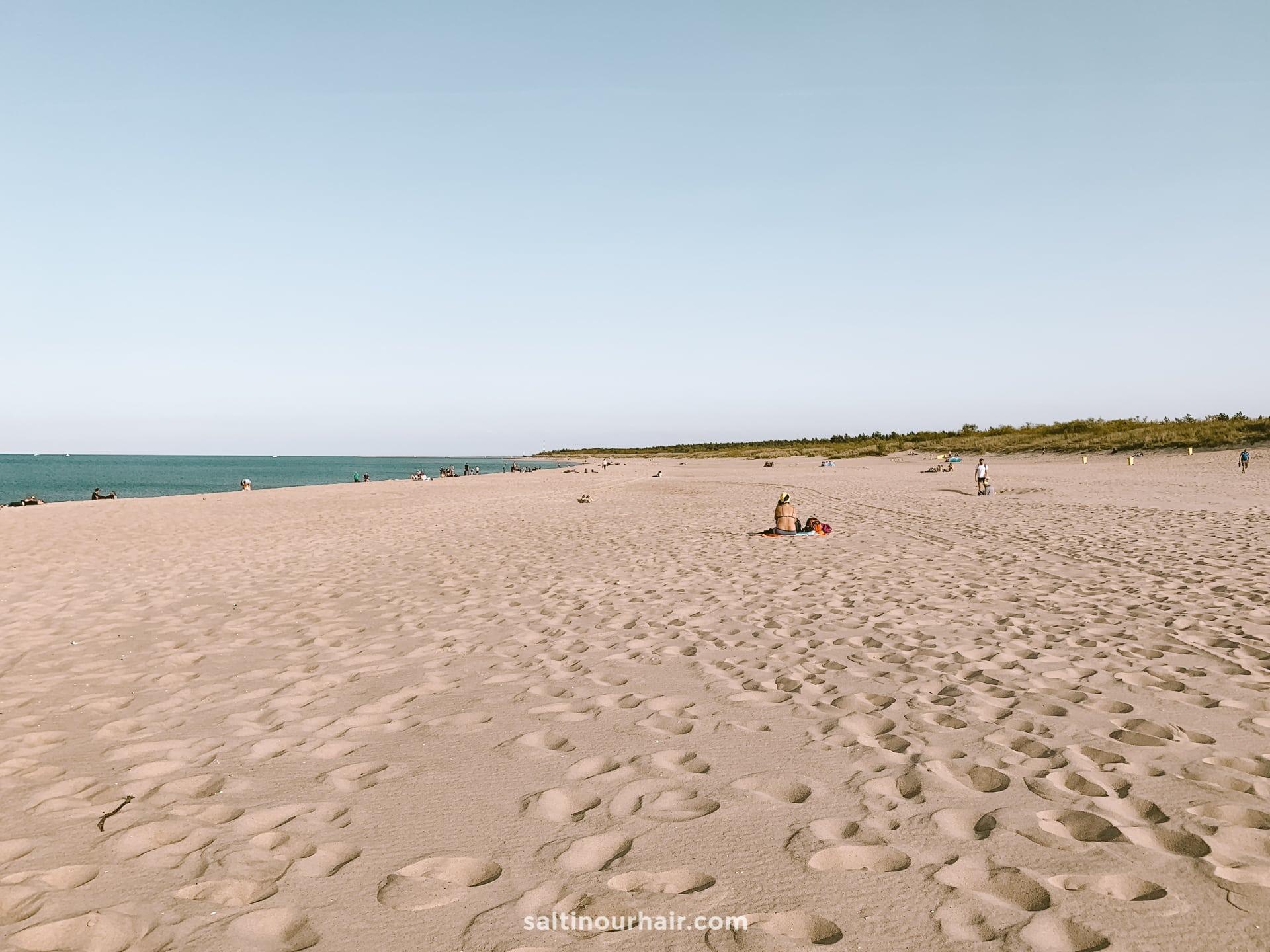 sopot beach poland