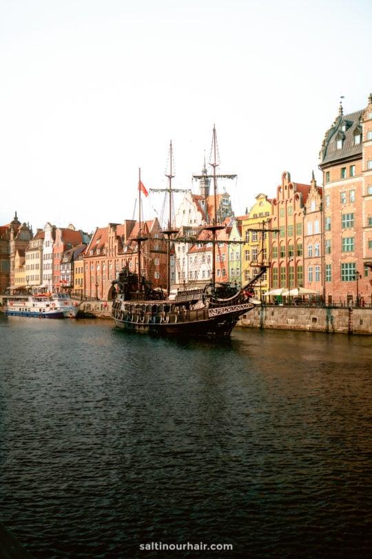 gdansk poland pirate ship