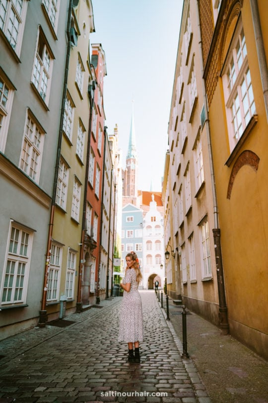 gdansk poland colorful houses