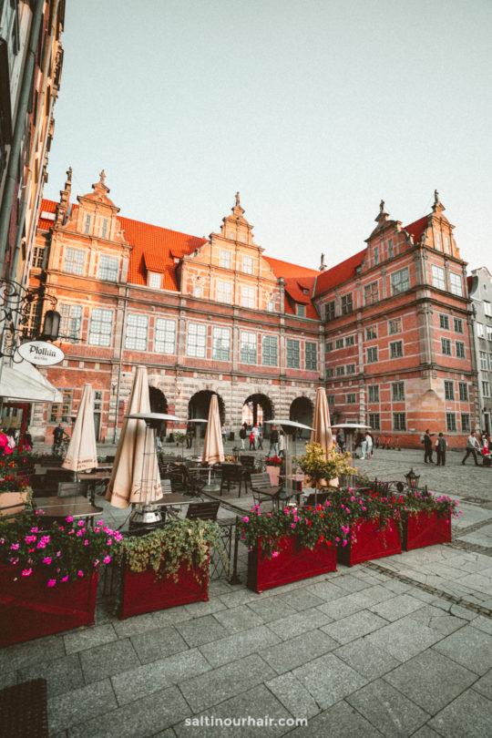 gdansk city guide Green Bridge