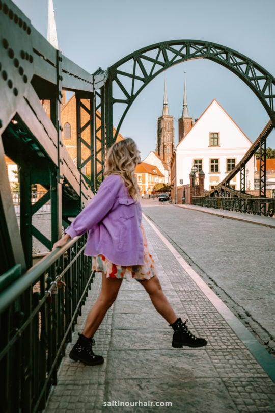 wroclaw things to do Tumski Bridge