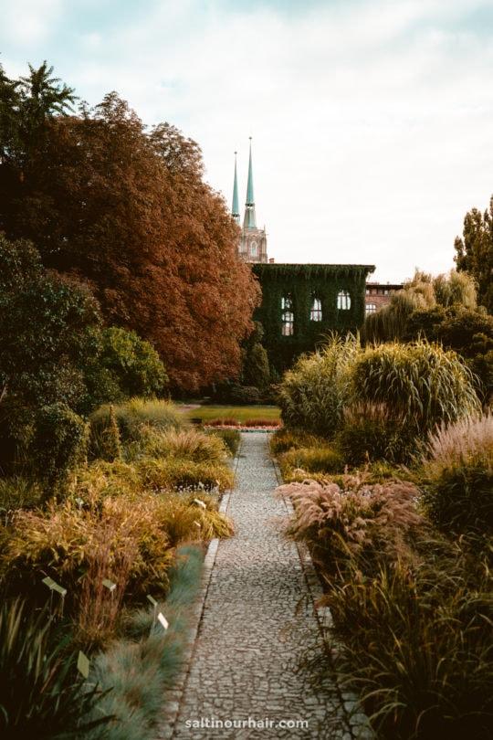 wroclaw botanical garden