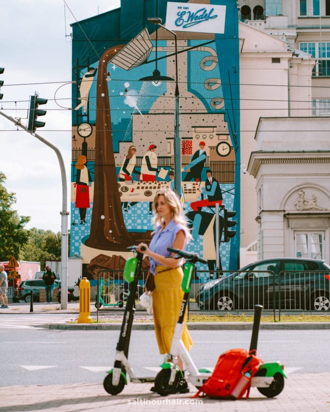 Warsaw Praga Neighborhood hipster
