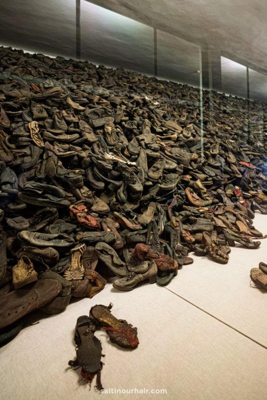 shoes victims auschwitz