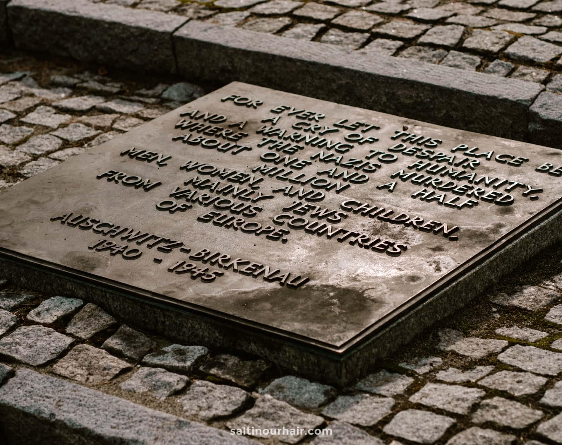 Concentration Camp tour