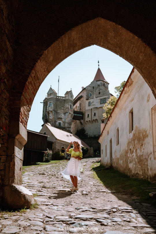 czech repbulic travel guide Pernstejn Castle
